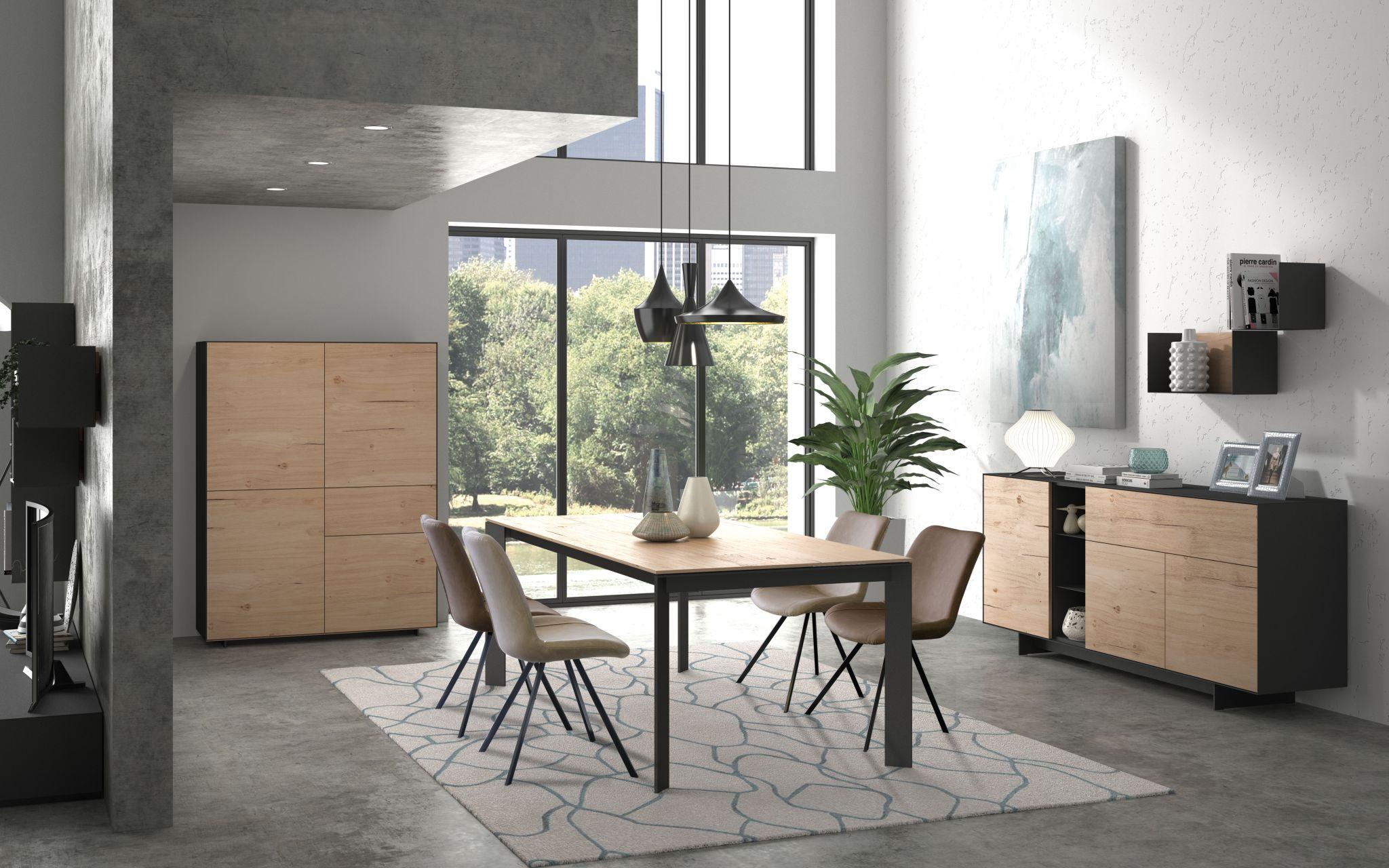 Moderne eetkamer m17br meubelen joremeubelen jore - Moderne eetkamer ...